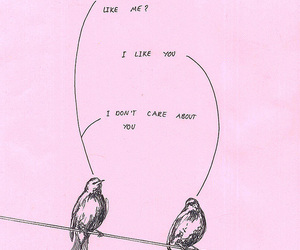 bird, pink, and quotes image