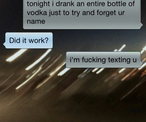 text, love, and drunk image