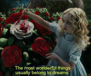 Dream, alice in wonderland, and quote image