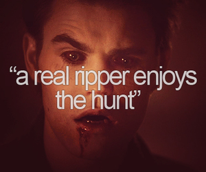 the vampire diaries, stefan salvatore, and ripper image