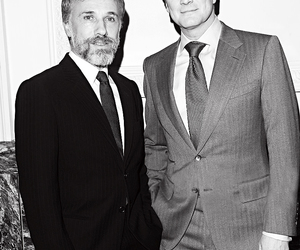 Colin Firth and christoph waltz image