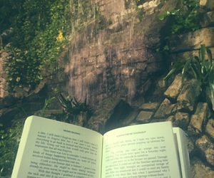 books, nature, and read image