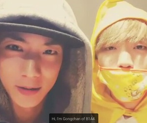 kpop, gongchan, and b1a4 image