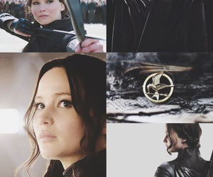 tribute, the hunger games, and mockingjay image