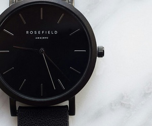 black, watch, and rosefield image