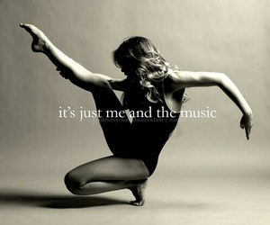 dance, music, and quotes image