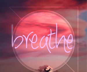 breathe, life, and pink image