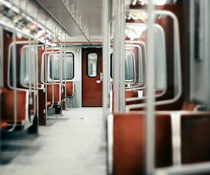 photography, train, and subway image