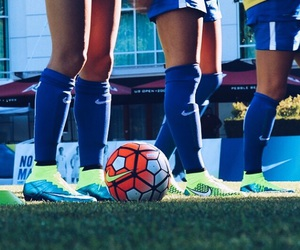 cleats, nike, and magista image