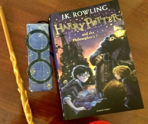 book, jk rowling, and part 1 image