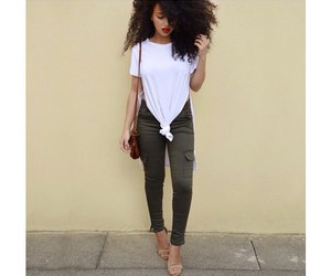 curly and fashion image