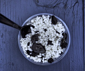 black and white, oreos, and cookies and cream image
