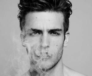 boy, smoke, and sexy image