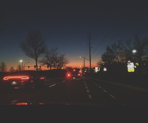 artsy, cars, and landscape image
