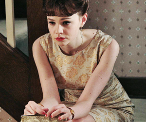 an education, Carey Mulligan, and vintage image