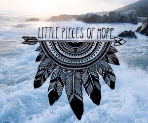 hope, quotes, and sea image