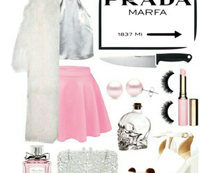 pink, Polyvore, and scream queens image