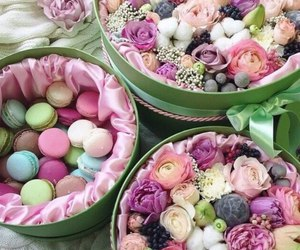 desserts, colors, and food image