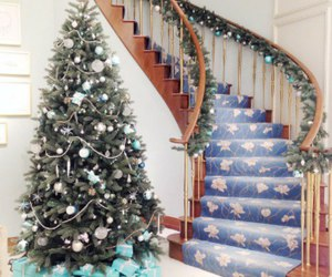 new year, christmas, and house image