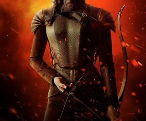 hunger games and katniss everdeen image