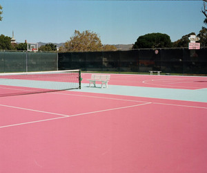 pink and tennis image