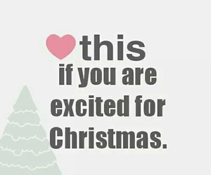 christmas, heart, and excited image