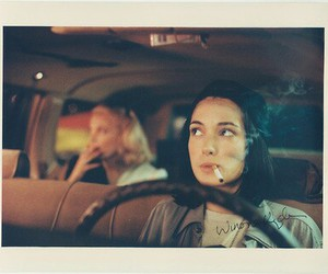 winona ryder, cigarette, and night on earth image