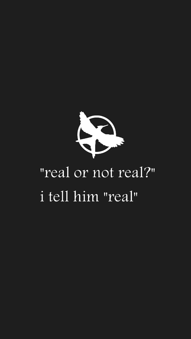 7 The Hunger Games Lockscreens Tumblr On We Heart It