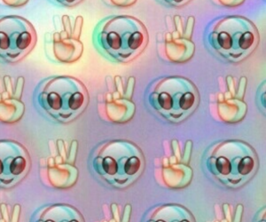 alien, wallpaper, and emoji image