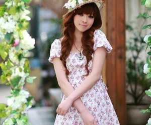 asian, girl, and japanese image
