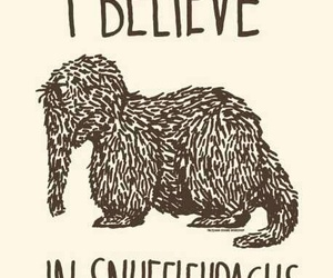 snuffleupagus, believe, and animal image
