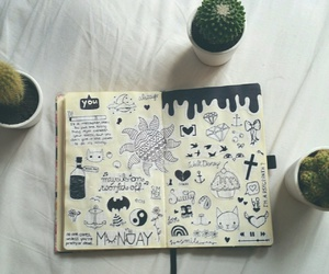 doodle, grunge, and tumblr image