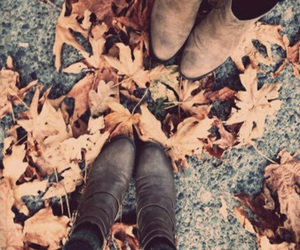 autumn and boots image