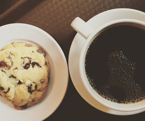 biscuits, breakfast, and coffe image