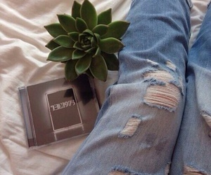 music, indie, and jeans image