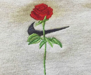 rose and nike image