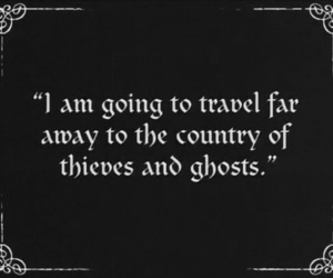 ghost, quote, and travel image