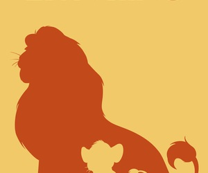 disney, the lion king, and poster image