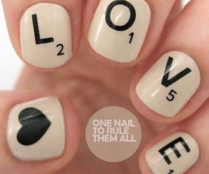 nails, love, and heart image