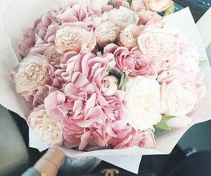 flowers, girly, and pink image
