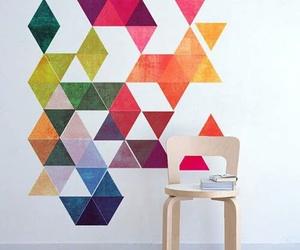 art, diy, and wall image