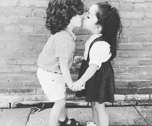 black, kiss, and love. image