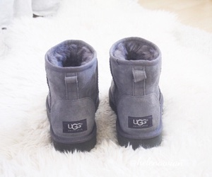 grey, shoes, and ugg image