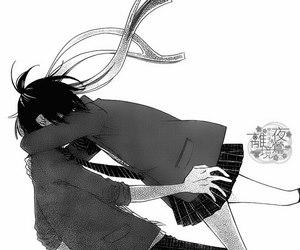 hug and manga image