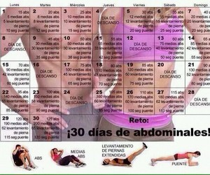 abs, routine, and ejercicio image