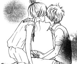 manga, boy, and couple image