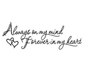 love, quotes, and always image