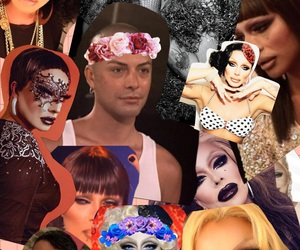 all stars, Collage, and drag queen image