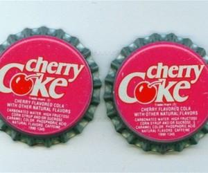 cherry coke, cherry, and coke image