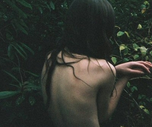girl, nature, and thin image